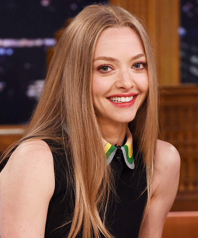 Amanda Seyfried Visits  The Tonight Show Starring Jimmy Fallon