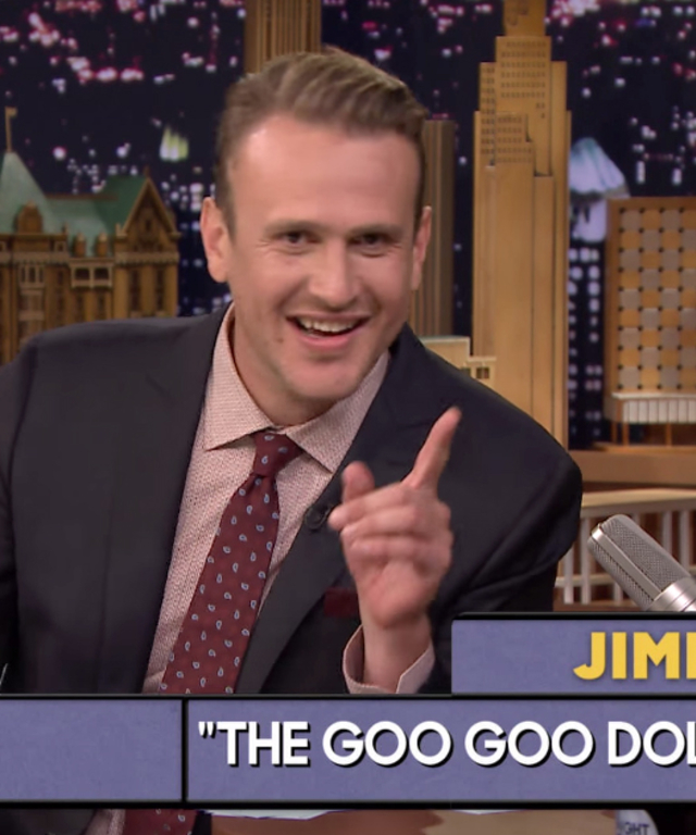 Jason Segal on Jimmy Fallon