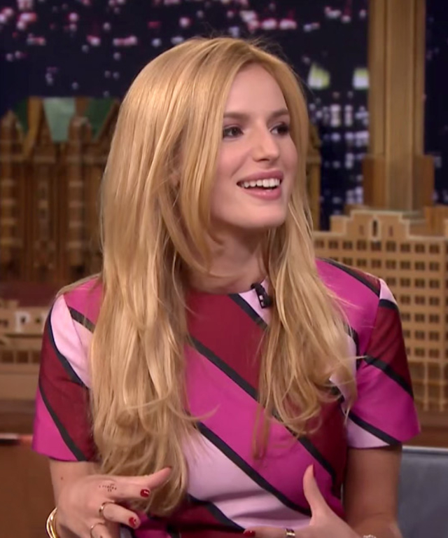 Bella Thorne on Jimmy Fallon