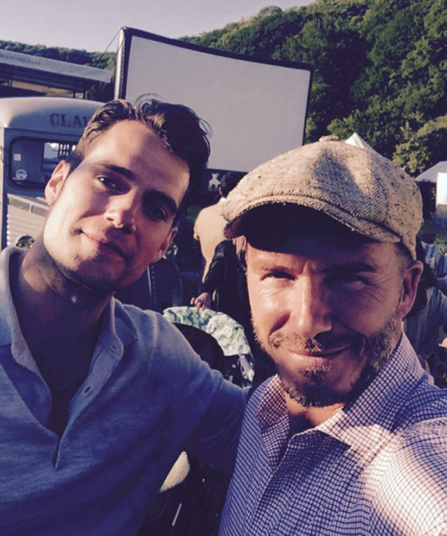 David Beckham and Henry Cavill - Lead