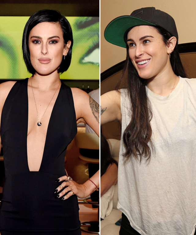 Rumer Willis Gets Hair Extensions And Looks Just Like Mom Demi Moore