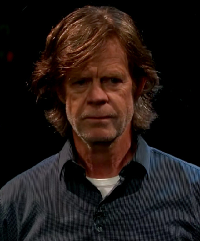 William H Macy on James Corden playing a game named Flinch