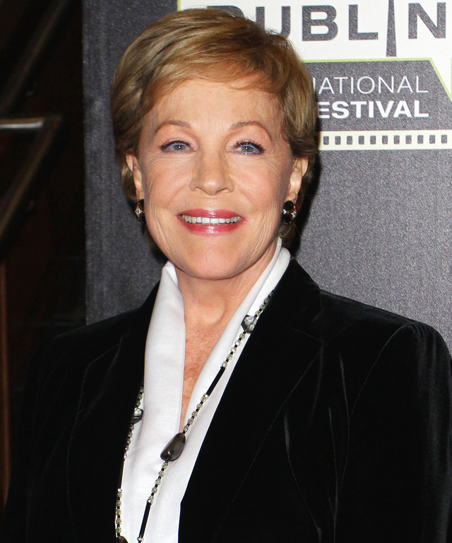 Julie Andrews attends the closing gala screening of 'The Sound of Music' in the Savoy cinema as part of the Jameson Dublin International Film Festival on March 29, 2015 in Dublin, Ireland.