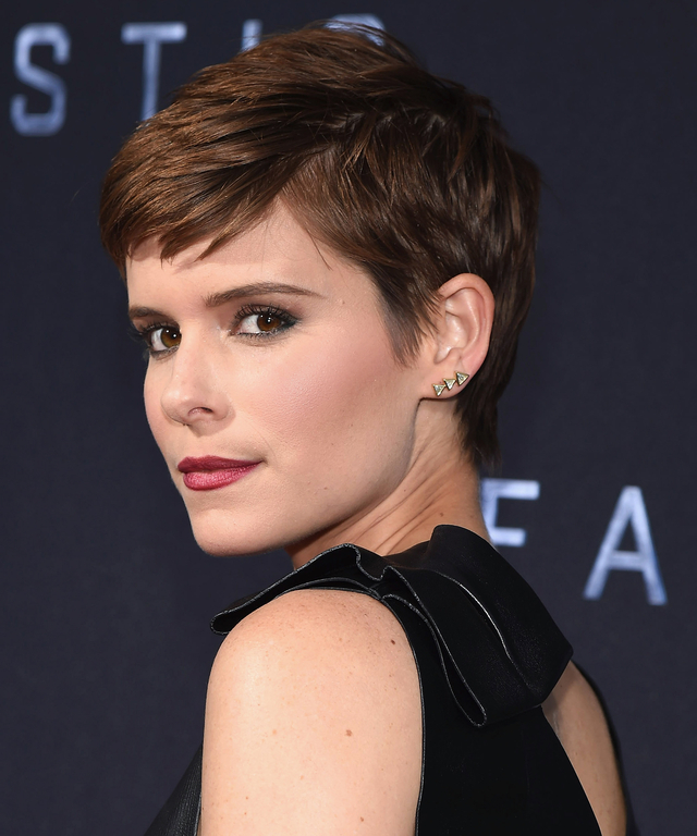 Actress Kate Mara attends the  Fantastic Four  New York Premiere - Inside Arrivals at Williamsburg Cinemas on August 4, 2015 in New York City.