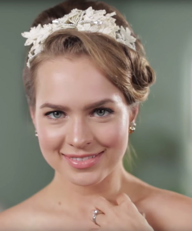 Wedding Hairstyles Video - Lead
