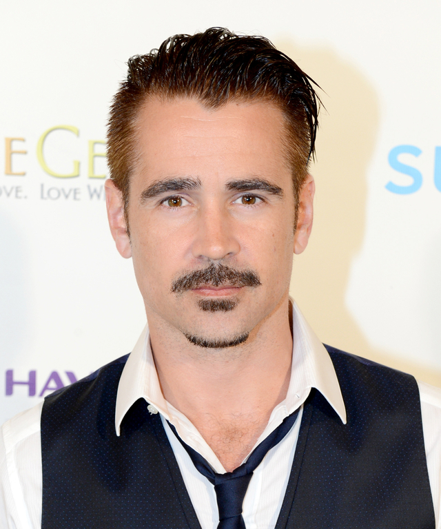 Actor Colin Farrell, recipient of the 2015 Maui Film Festival Navigator Award, attends day two of the 2015 Maui Film Festival at Four Seasons Maui on June 4, 2015 in Wailea, Hawaii.