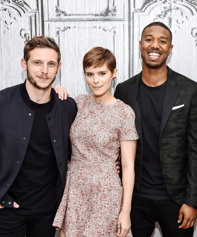 AOL Build Speaker Series Presents Miles Teller, Kate Mara, Michael B. Jordan And Jamie Bell  Fantastic Four