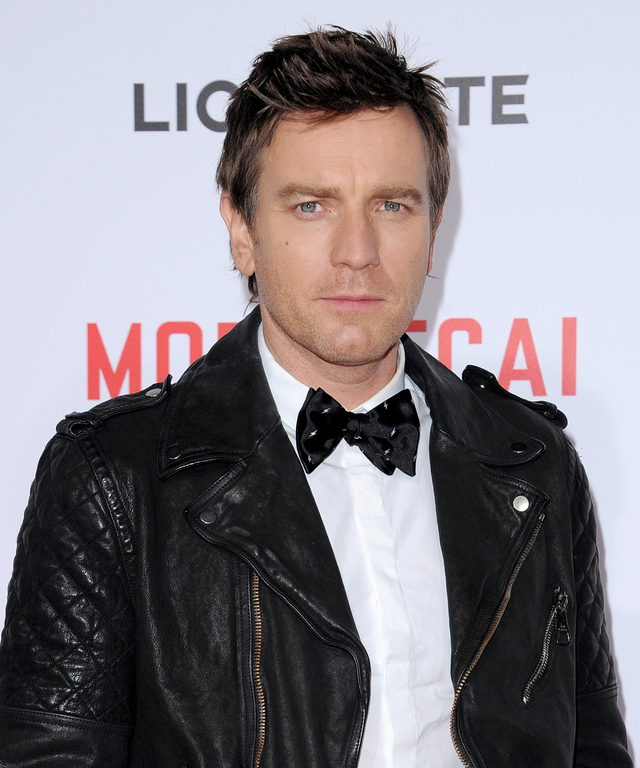 HOLLYWOOD, CA - JANUARY 21:  Actor Ewan McGregor arrives at the Los Angeles premiere of 'Mortdecai' at TCL Chinese Theatre on January 21, 2015 in Hollywood, California.  (Photo by Axelle/Bauer-Griffin/FilmMagic)