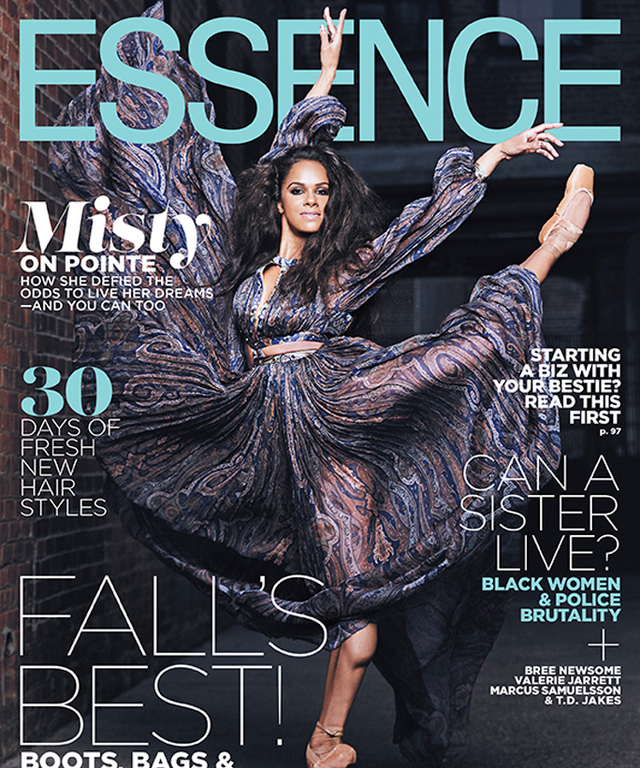 Misty Copeland - Essence Cover - Lead