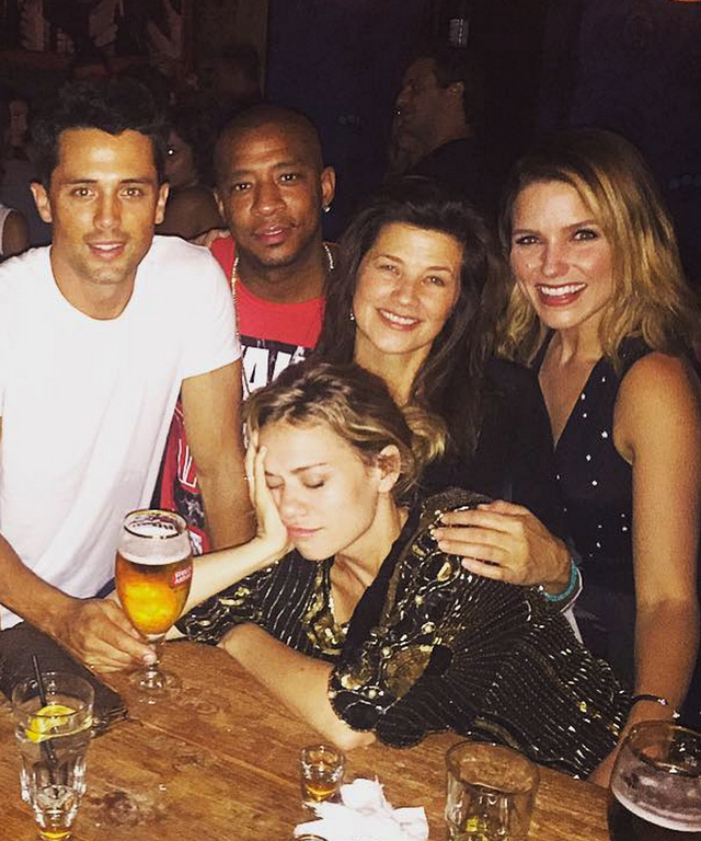 Sophia Bush posts Instagram photo of One Tree Hill Cast Reunion