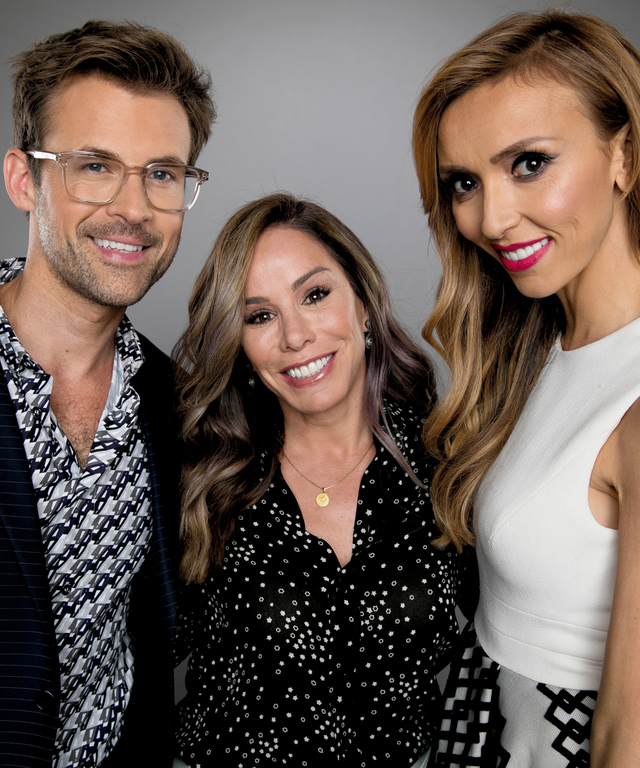 Brad Goreski, Melissa Rivers and Giuliana Rancic