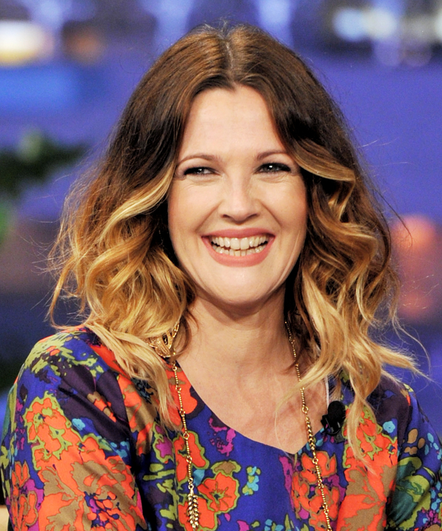 "Drew Barrymore And Blake Shelton On ""The Tonight Show With Jay Leno"""