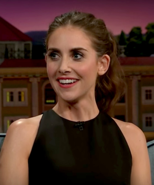 Alison Brie on James Corden