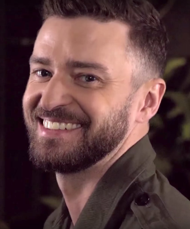 Justin Timberlake Looks on Jimmy Fallon