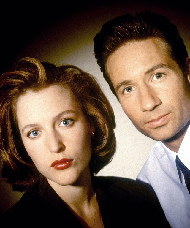 THE X-FILES, Gillian Anderson, David Duchovny, 1993-2002. TM and Copyright © 20th Century Fox Film C