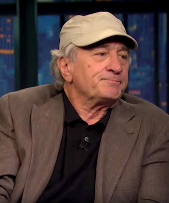 Robert De Niro on Seth Meyers