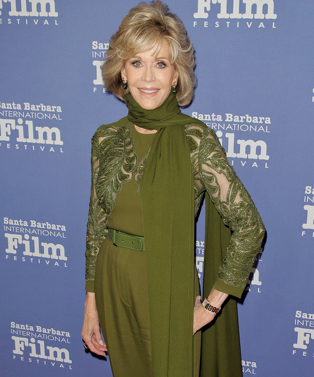 The Santa Barbara International Film Festival Honors Jane Fonda With The Kirk Douglas Award For Excellence In Film