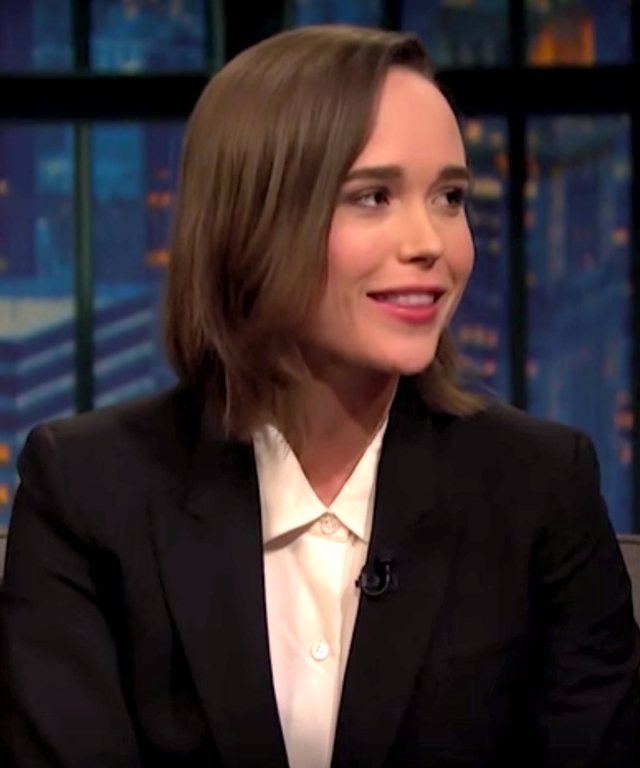 Ellen Page on Seth Meyers