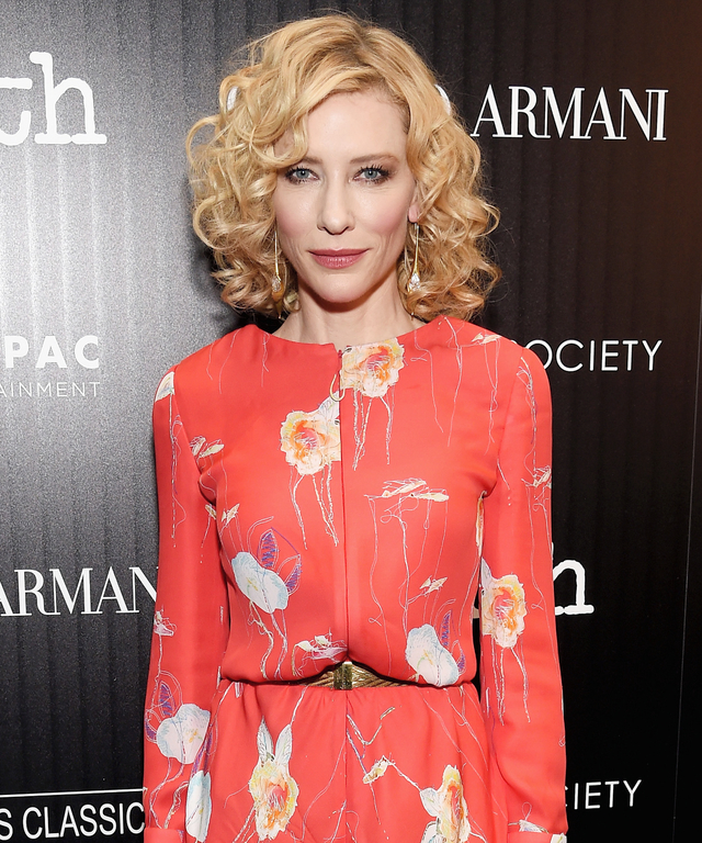 Giorgio Armani And The Cinema Society Host A Screening Of Sony Pictures Classics'  Truth  - Arrivals