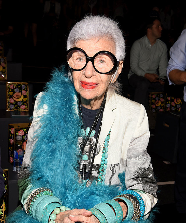 94-Year-Old Style Icon Iris Apfel Reveals the Dress She'd Wear if She Got Married Again