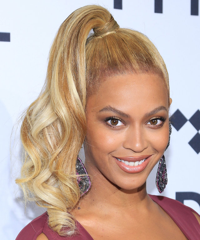 Beyonce arrives to TIDAL X: 1020 at Barclays Center on October 20, 2015 in the Brooklyn borough of New York City.