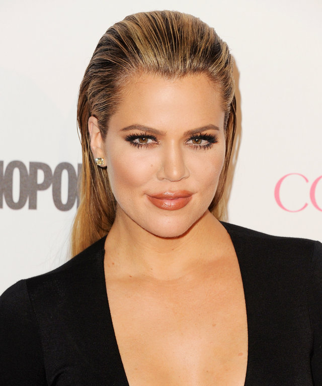 Khloe Kardashian arrives at Cosmopolitan Magazine's 50th Birthday Celebration at Ysabel on October 12, 2015 in West Hollywood, California.