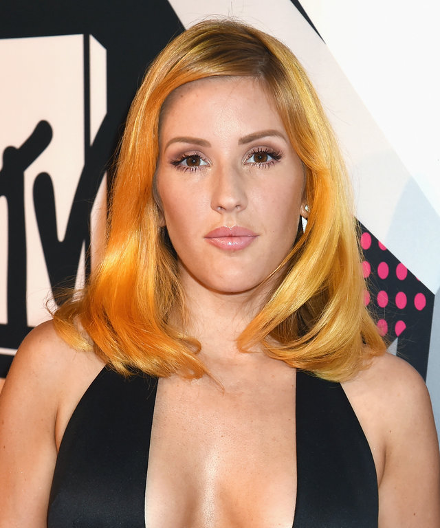 Ellie Goulding attends the MTV EMA's 2015 at the Mediolanum Forum on October 25, 2015 in Milan, Italy.