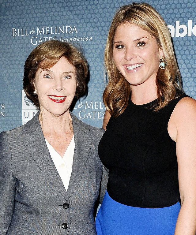 Laura Bush and Jenna Bush Hage