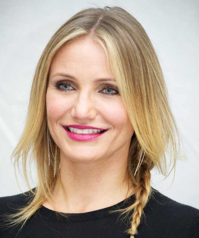 "NEW YORK, NY - DECEMBER 03:  Cameron Diaz at the ""Annie"" Press Conference at The London Hotel on December 3, 2014 in New York City.  (Photo by Vera Anderson/WireImage)"