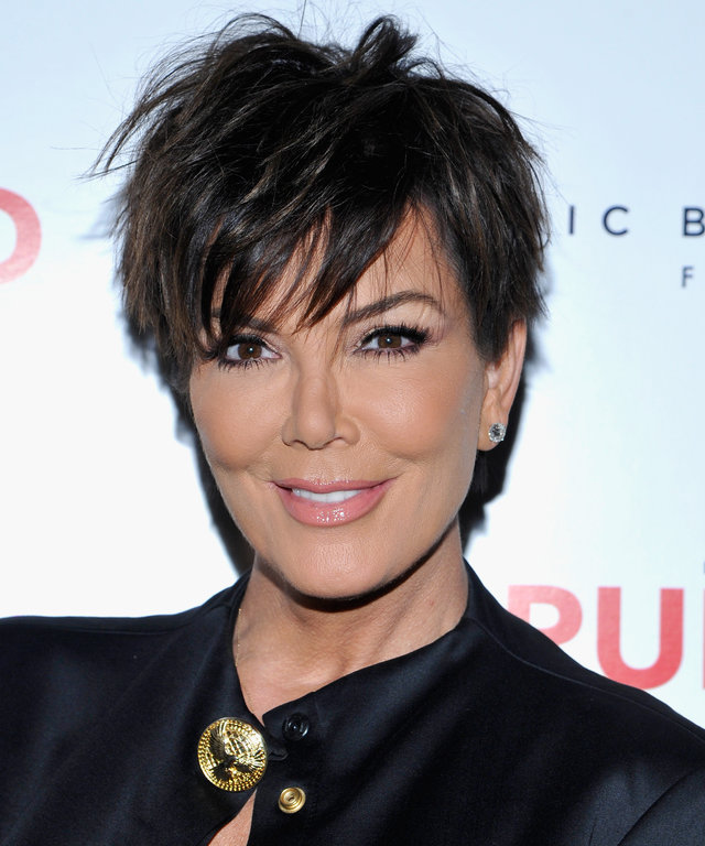 TV personality Kris Jenner attends Brian Atwood's Celebration of PUMPED hosted by Melissa McCarthy and Eric Buterbaugh on October 23, 2015 in Los Angeles, California.