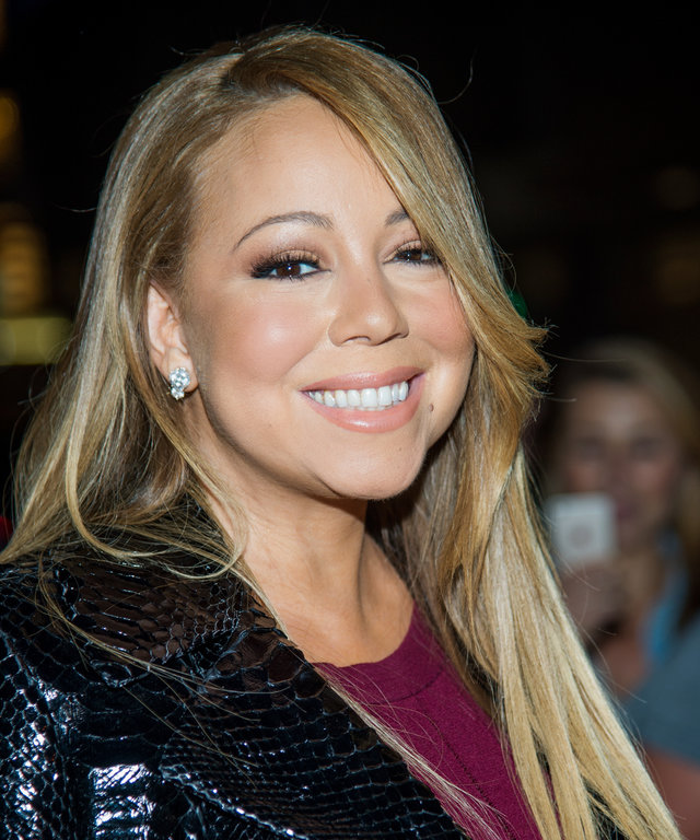 "Singer Mariah Carey attends ""The Intern"" New York Premiere at the Ziegfeld Theater on September 21, 2015 in New York City."