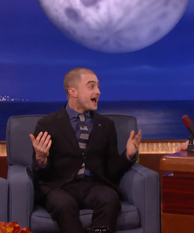Daniel Radcliffe on Conan
