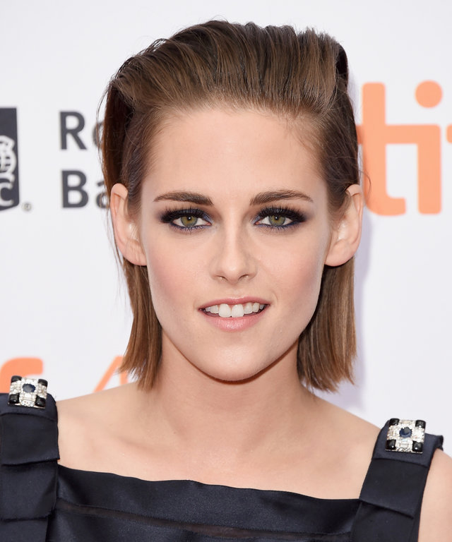 "Actress Kristen Stewart attends the ""Equals"" premiere during the 2015 Toronto International Film Festival at the Princess of Wales Theatre on September 13, 2015 in Toronto, Canada."