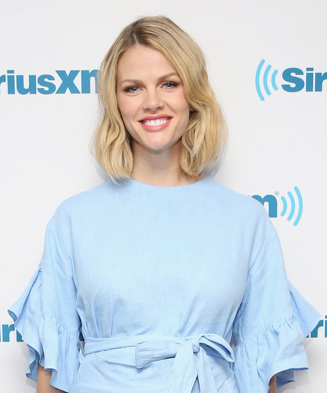 Brooklyn Decker visits at SiriusXM Studios on May 18, 2015 in New York City.