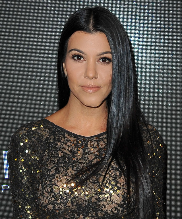 """TV personality Kourtney Kardashian attends Sean """"Diddy"""" Combs' Exclusive Birthday Celebration on November 21, 2015 in Beverly Hills, California."""