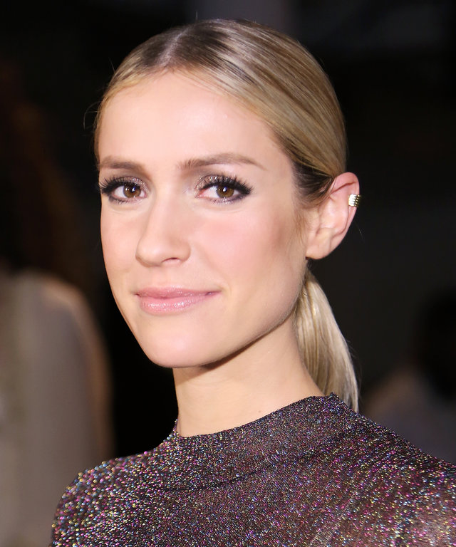 Kristin Cavallari attends The Blonds fashion show during Spring 2016 MADE Fashion Week at Milk Studios on September 16, 2015 in New York City.