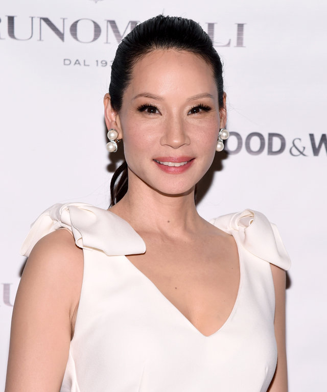 Actress Lucy Liu attends Bruno Magli Presents A Taste Of Italy Co-Hosted By Food & Wine & Scott Conant on December 1, 2015 in New York City.