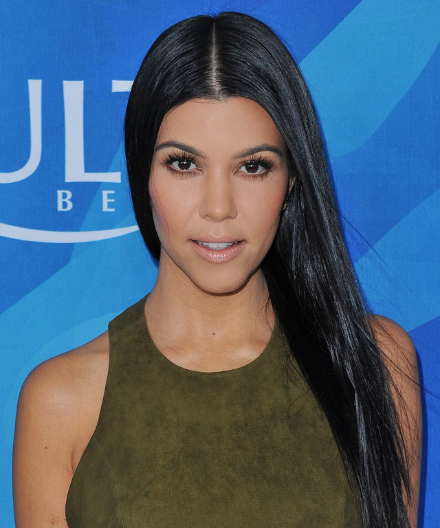 TV personality Kourtney Kardashian attends the WWD and Variety's Stylemakers event at Smashbox Studios on November 19, 2015 in Culver City, California.