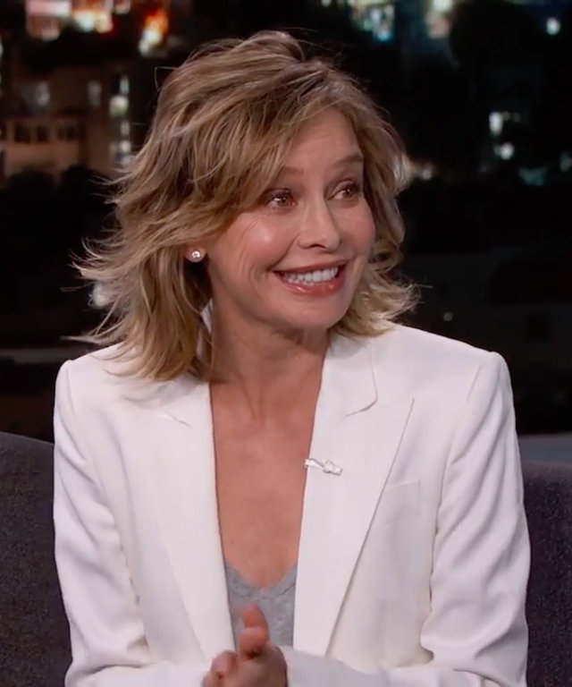 Calista Flockhart on Jimmy Kimmel