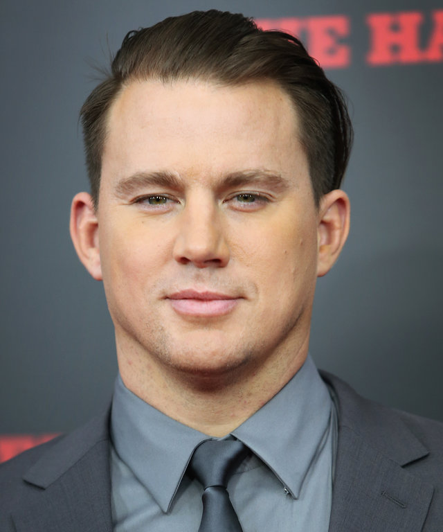 Actor Channing Tatum attends the The New York Premiere Of 'The Hateful Eight' on December 14, 2015 in New York City.