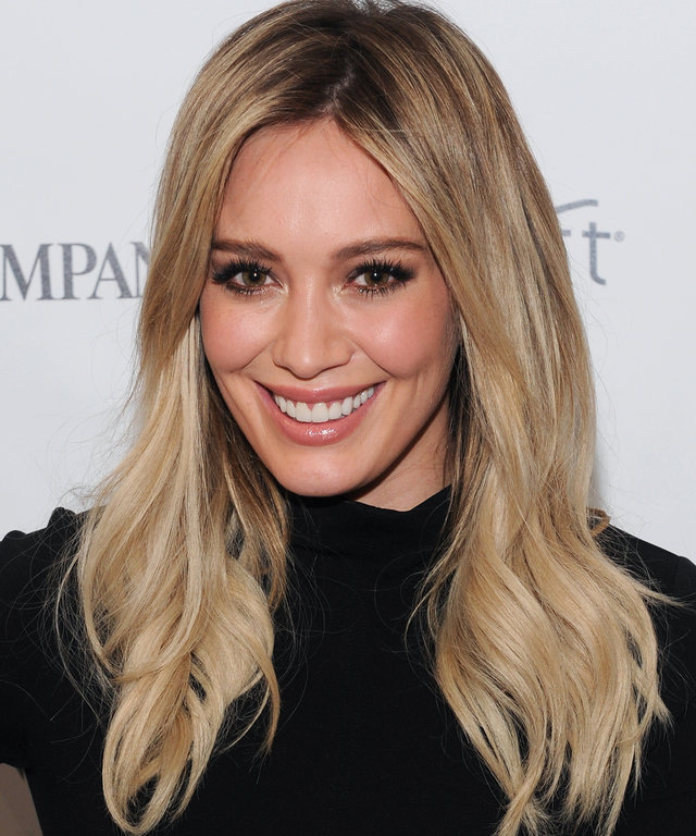Actress Hilary Duff appears during 'Inside TV Land's Hit Show 'Younger' With TV Icon Darren Starr, Patricia Field And Debi Mazar' at The Fast Company Innovation Festival on November 10, 2015 in New York City.