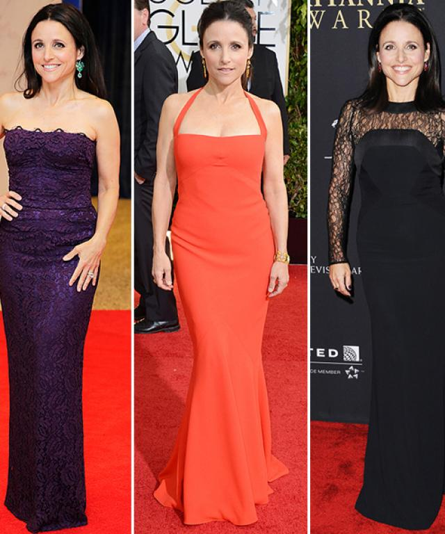 Julia Louis-Dreyfus's Best Red Carpet Looks