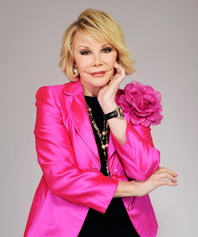 Joan Rivers E! Fashion Police Tribute