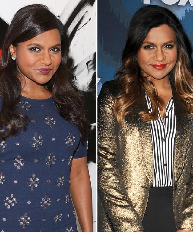 Mindy Kaling blonde