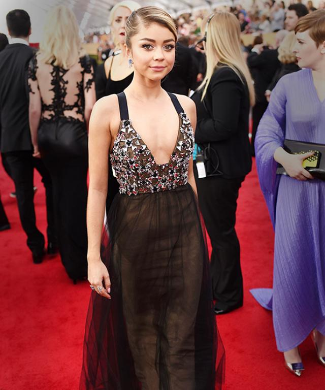Sarah Hyland at 2015 SAG Awards