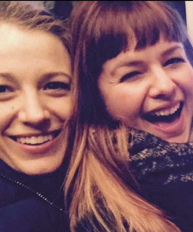 Blake Lively and Amber Tamblyn - Insta