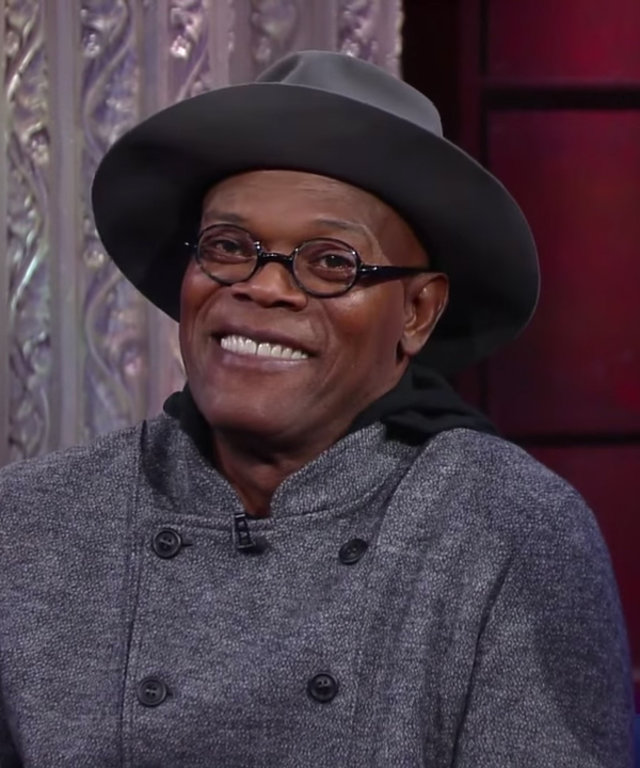Samuel L. Jackson on Colbert