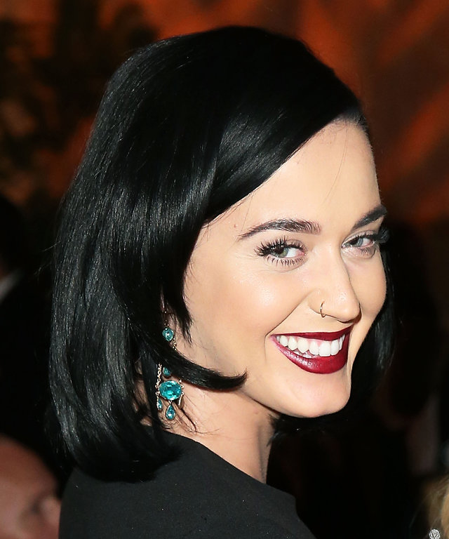 Katy Perry attends the 8th Annual GO Campaign Gala at Montage Beverly Hills on November 12, 2015 in Beverly Hills, California.
