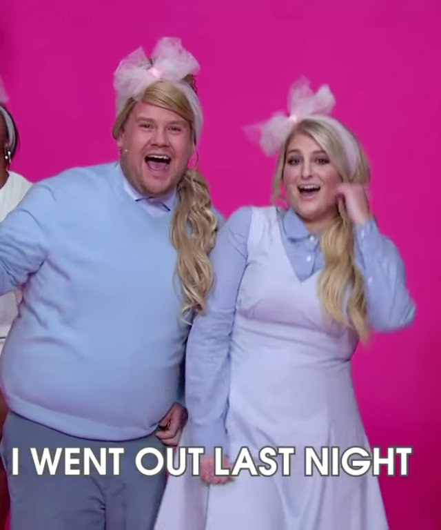 Meghan Trainor - James Corden - parody