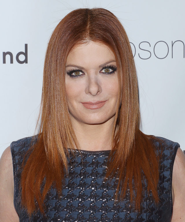 Actress Debra Messing attends the Ted Gibson's 50th birthday celebration at the Knickerbocker Hotel & Rooftop on November 14, 2015 in New York City.
